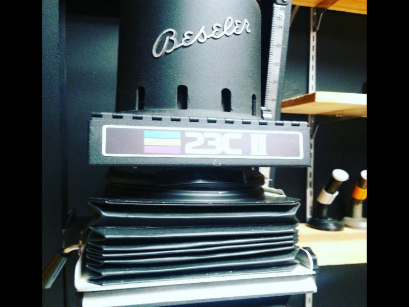 Darkroom Equipment. Photo: Ali McGhee
