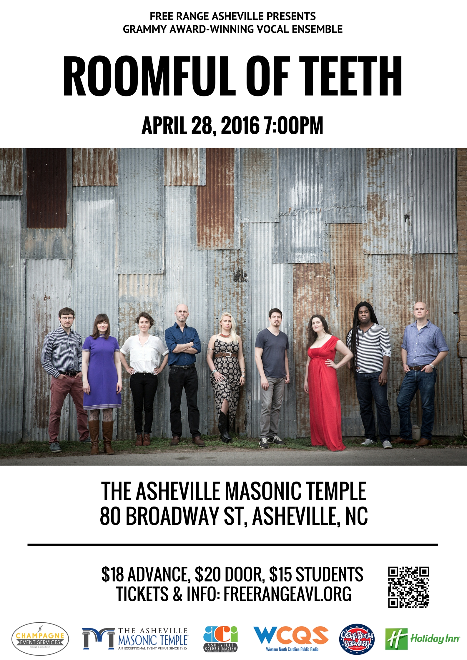 Free Range Asheville Presents Roomful of Teeth | ASHEVILLE GRIT