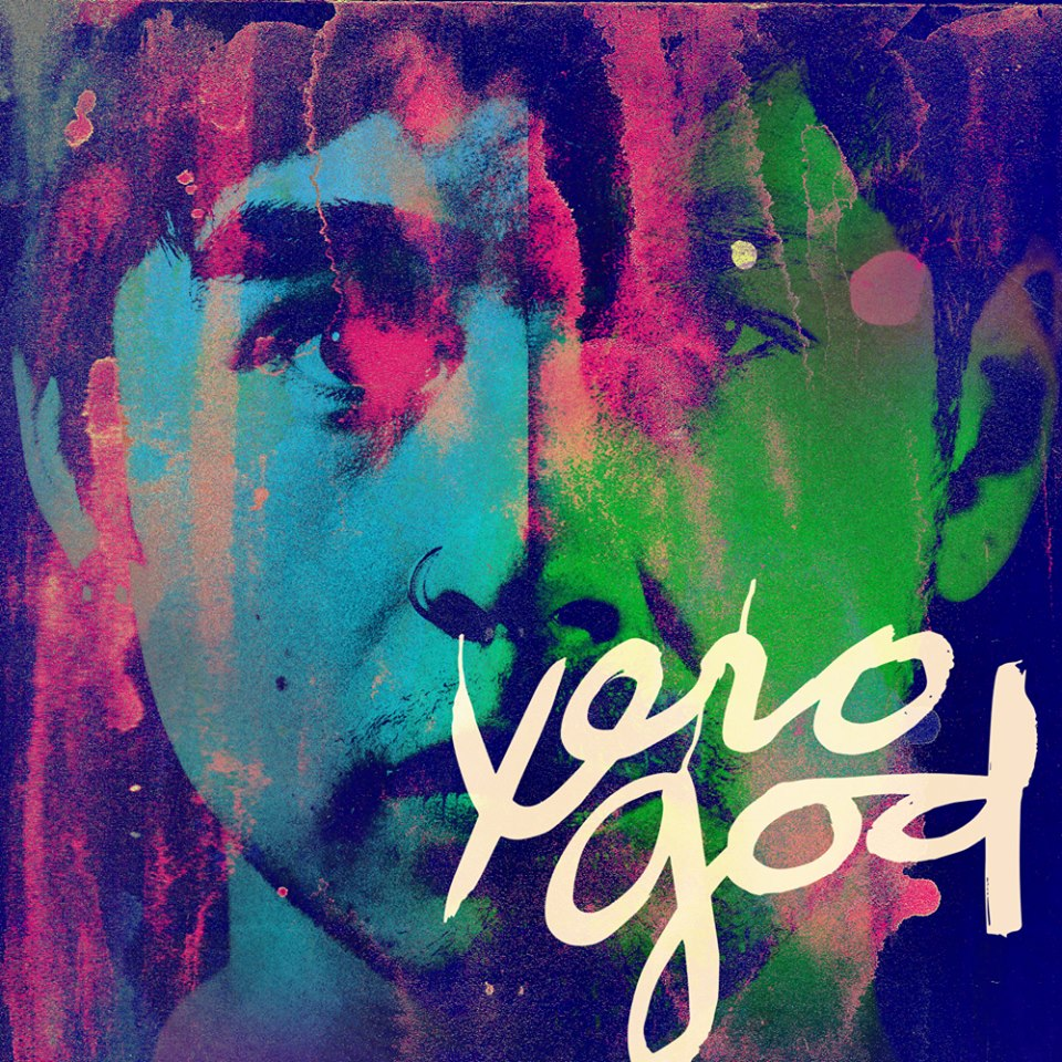 Xero God album cover. Photo: Sarah Carballo. Album Design: Kent Hernandez. Logo: Marian Oreamuno.