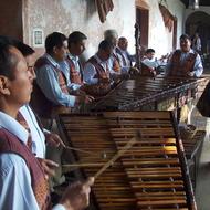 Tocadores de Marimba; Antigua, Guatemala. Source: Alfredobi, Wikimedia Commons