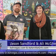 Justin Rabuck, Jason Sandford, and Ali McGhee
