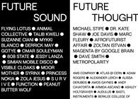 Moogfest lineup