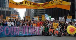 NYC People's Climate March (2014). Photo: Alejandro Alvarez