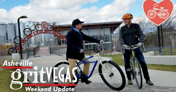 Embedded thumbnail for Bike Love 2017: Pick of the Weekend on the Asheville GritVegas Weekend Update!