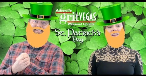 Embedded thumbnail for St. Patrick's Day 2017 Celebrations on the Asheville GritVegas Weekend Update!