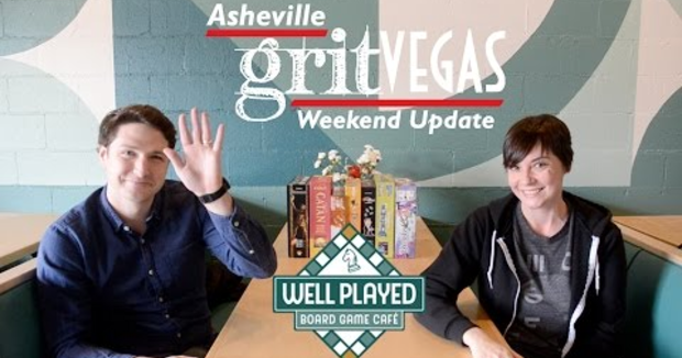 Embedded thumbnail for Well Played Board Game Cafe's Grand Opening: This Week's GritVegas Highlight!