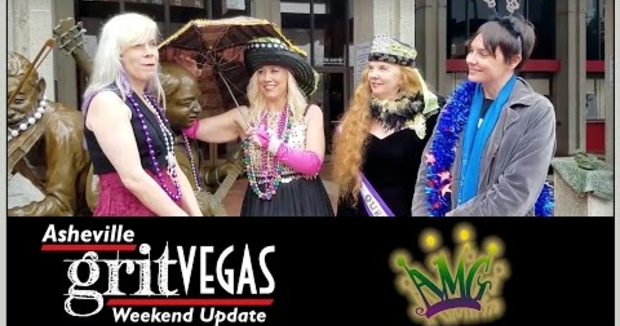 Embedded thumbnail for Asheville Mardi Gras 2017: Pick of the Weekend on the Asheville GritVegas Weekend Update!