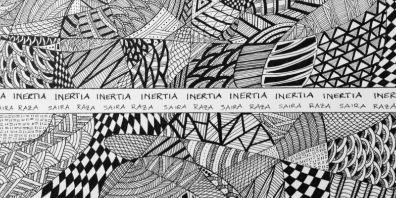 Inertia cover art by Saira Raza