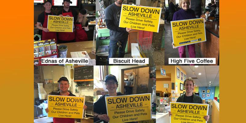 Slow Down AVL sponsors