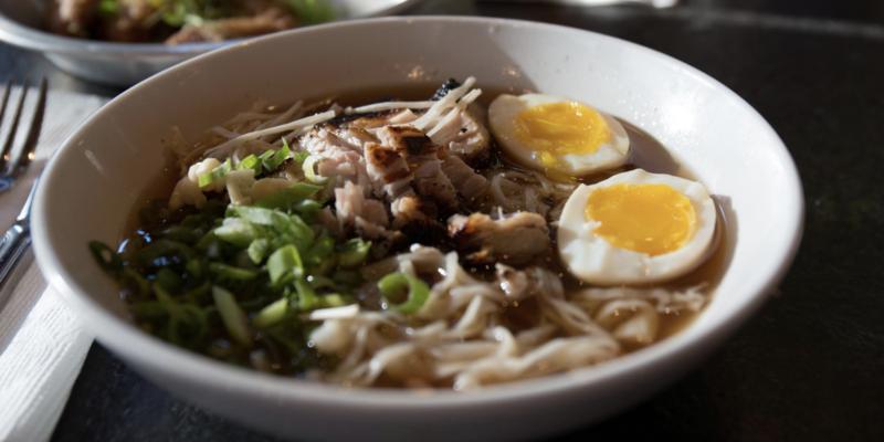 Tonkotsu Ramen at Gaijin Noodle Bar. Credit: Mark Chandler