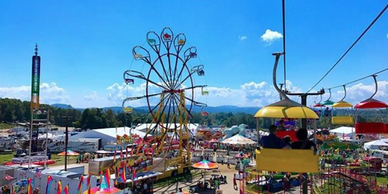 NC Mountain State Fair / photo by @curatednc