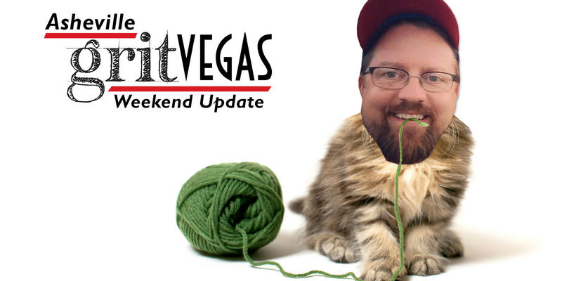 Jason and the WNC Yarn Crawl
