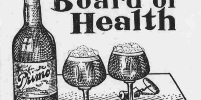Primo Vintage Beer Ad