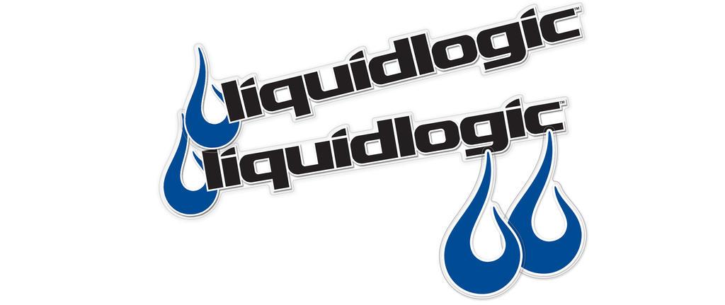 Liquidlogic stickers