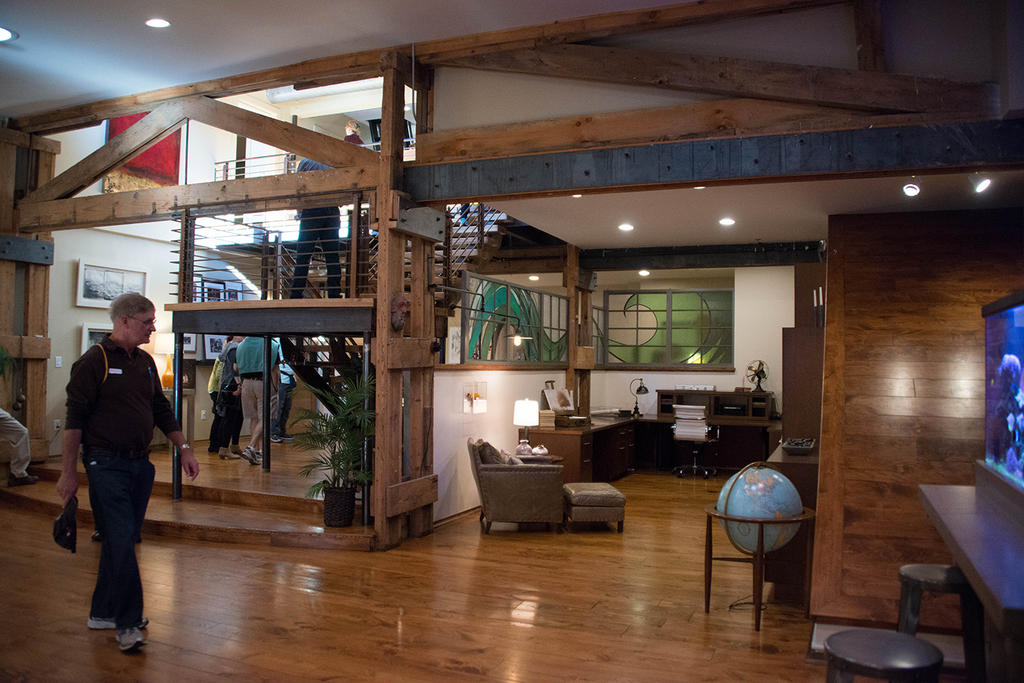 Loft above Lexingon Avenue Brewing (L.A.B). Photo: Erin Fowler