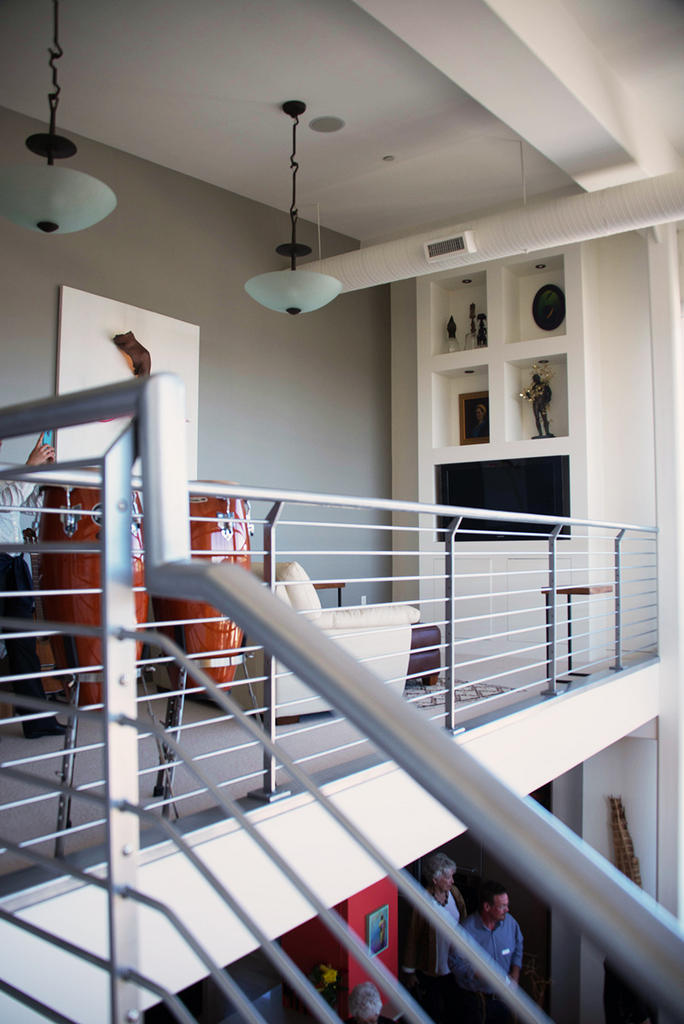 N. Lexington Loft.  Photo: Erin Fowler