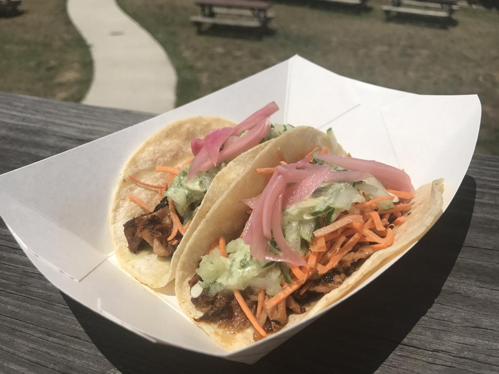 Asian Pork Tacos