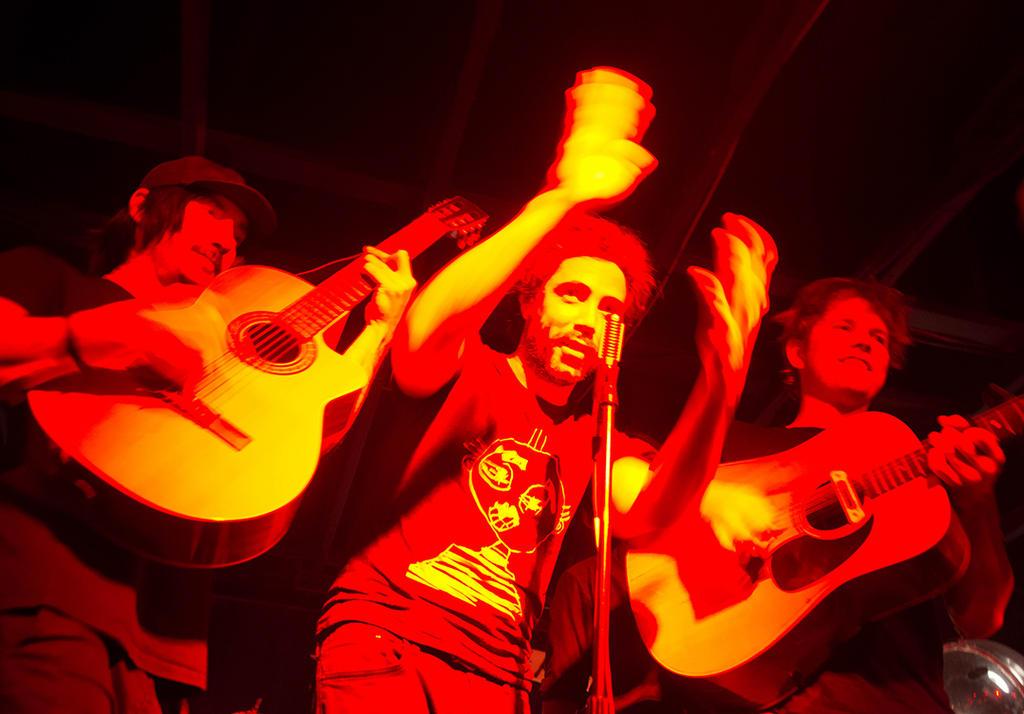 Misha Stein, Patrick Watson, Joe Grass. Credit: Erin Fowler