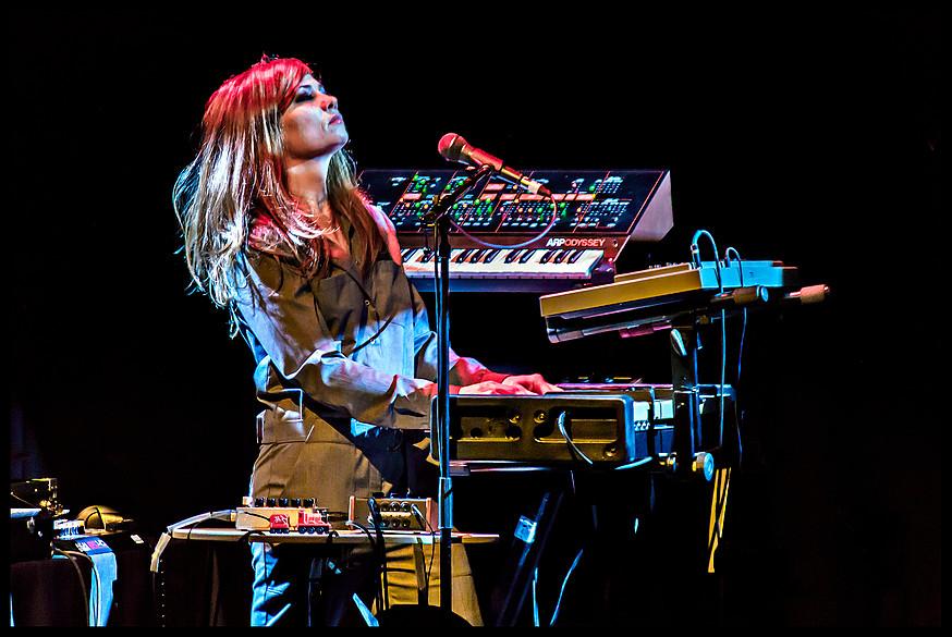 I Speak Machine's Tara Busch. Source: band website