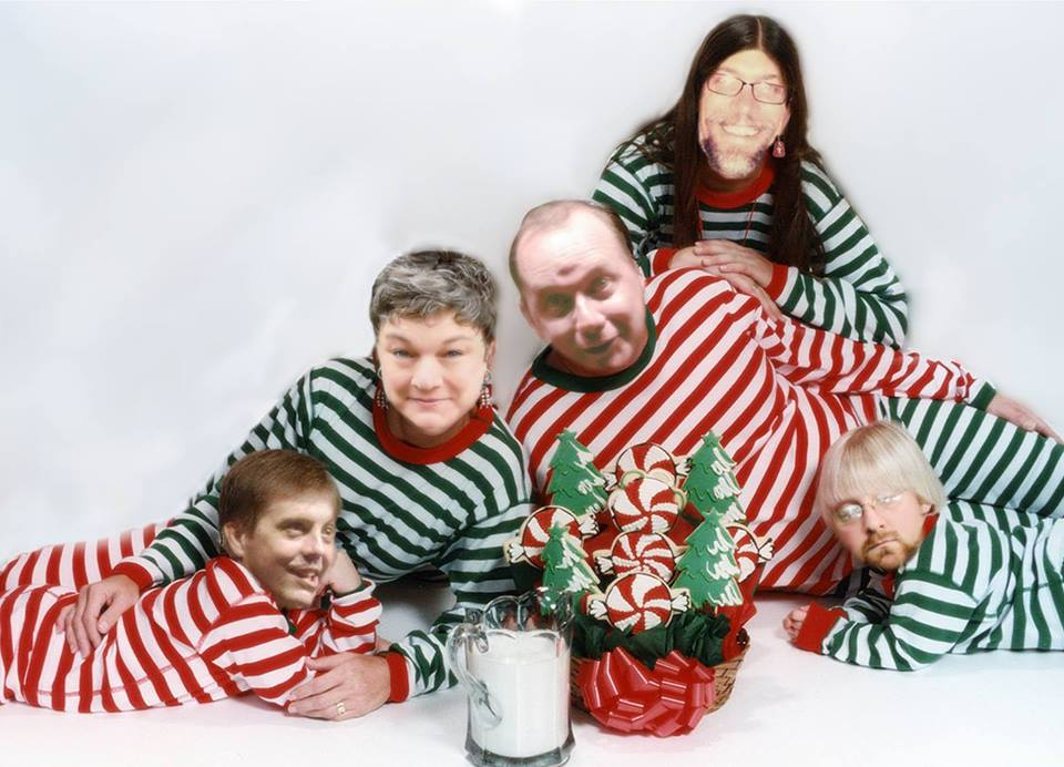 The Reasonably Priced Babies Comedy Troupe Get Their Christmas Sweater On