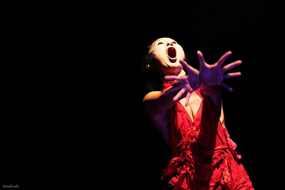 Yumiko Yushioka. Photo courtesy of Asheville Butoh Festival.