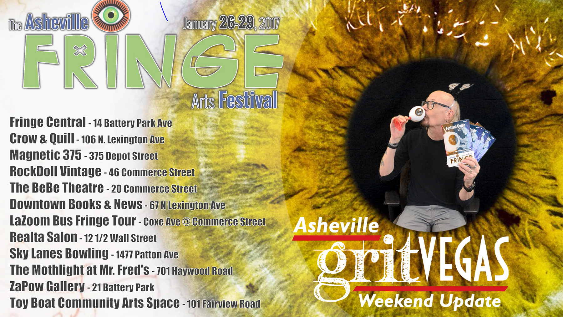 Fringe Fest Weekend Update