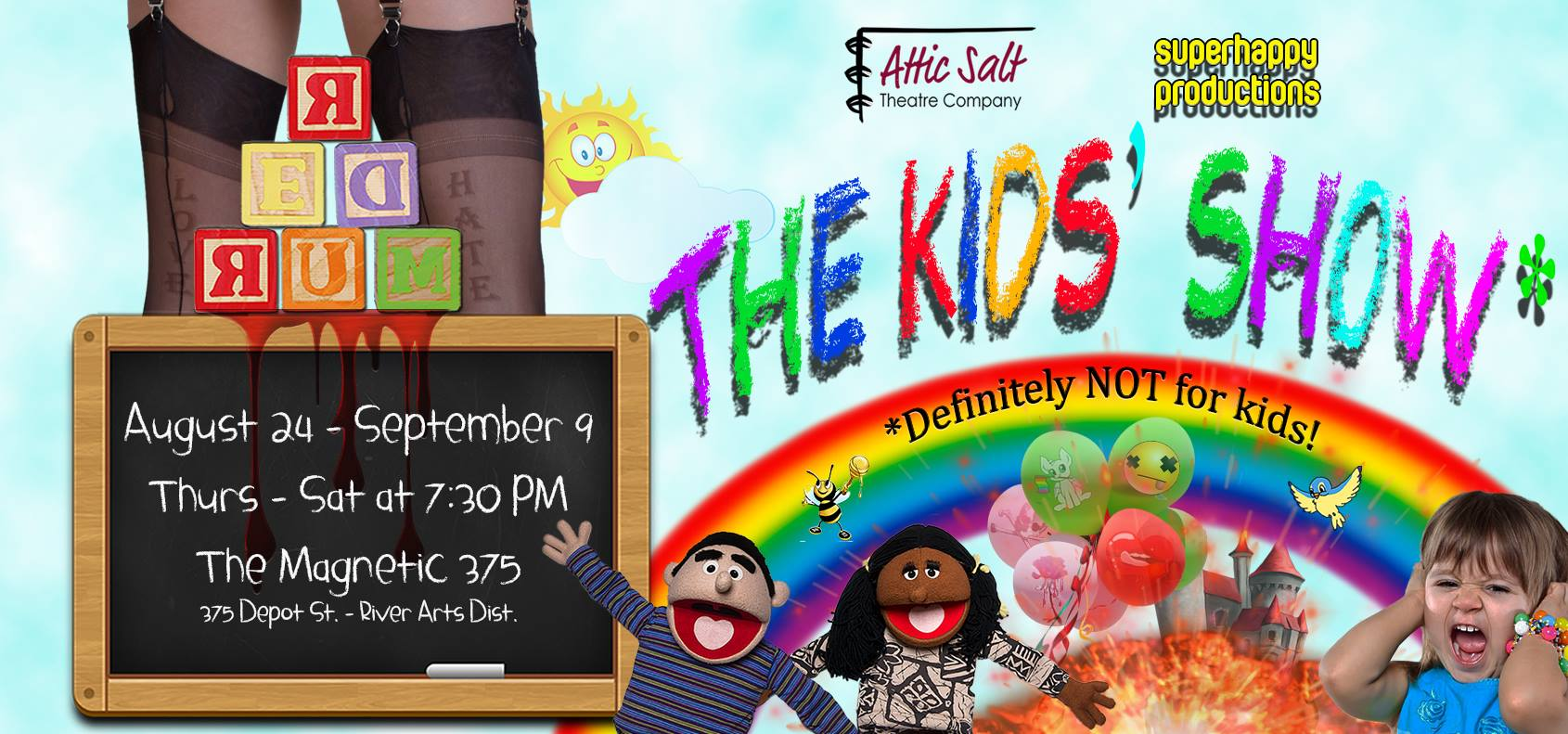 The Kids' Show: Definitely Not for Kids