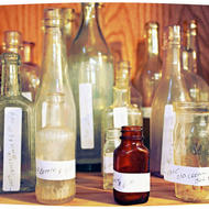 Vintage bottles. Source: Nancynance, 2012 (Flickr)