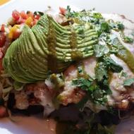 Chupacabre's sweet potato enchiladas.