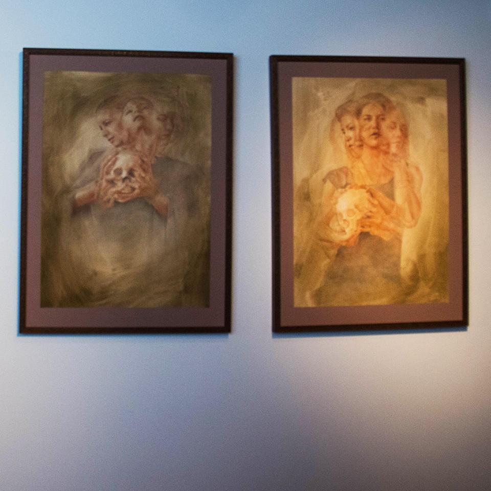 The art of Francesco Lombardo.  Photo: Erin Fowler