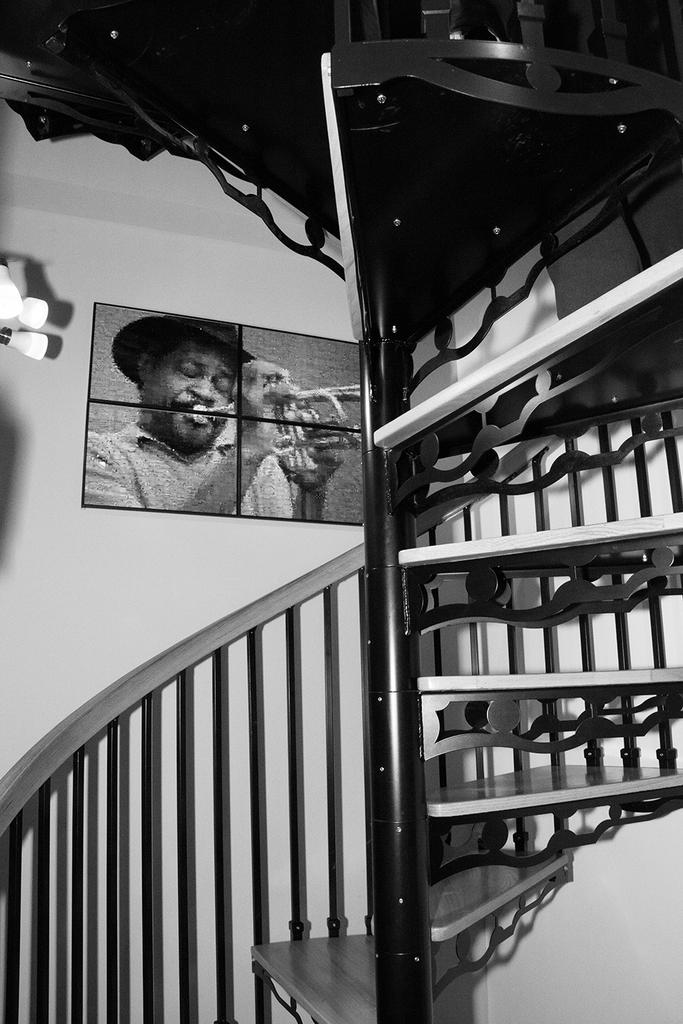 Loft above the Haen Gallery. Photo: Erin Fowler