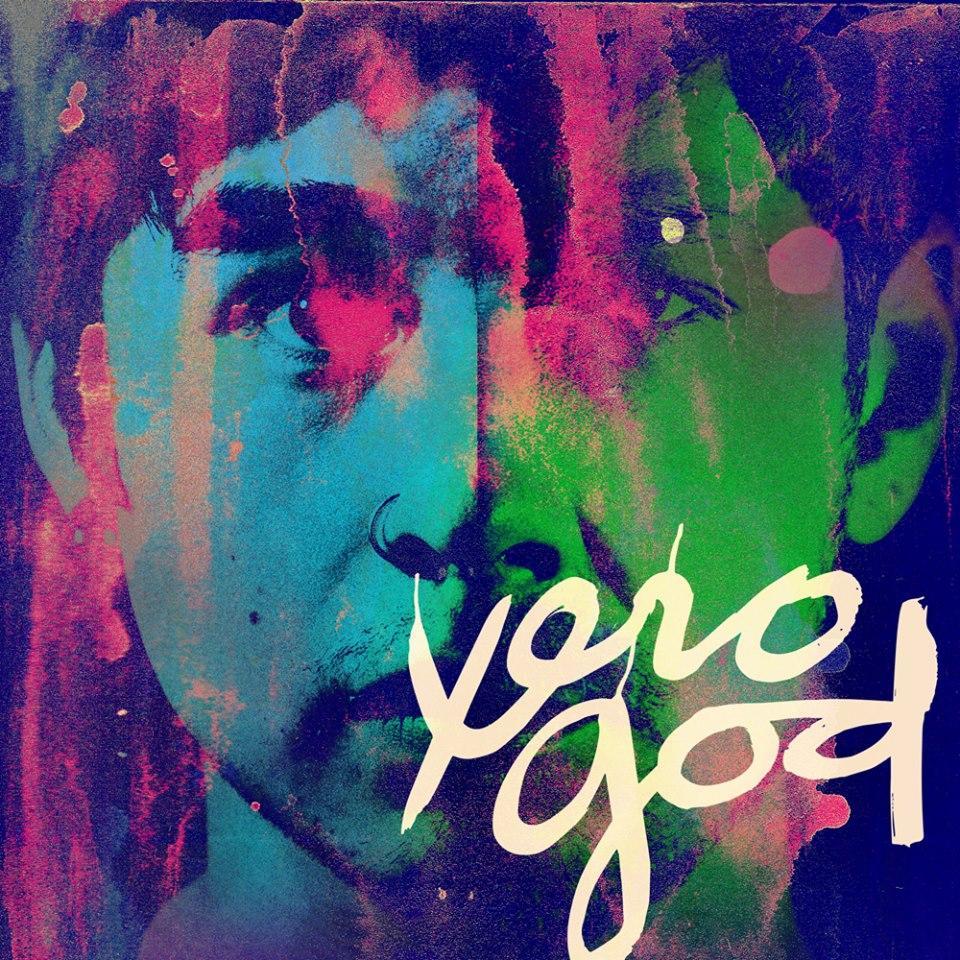 Xero God album cover: Design: Kent Hernandez. Logo: Mariano Oreamuno.